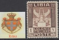 Italy Libia - Sassone n. 53i  MNH** Variety Center moved to top cv 90$