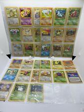 New listing Pokemon 1st Edition Jungle Set Uncommon Common Non Holo Card Lot 34/64