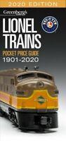Greenberg's Lionel Trains Pocket Price Guide 2020, Paperback by Carp, Roger (...