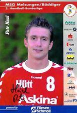 HANDBALL carte joueur PETR HAZL handball bundesliga signée