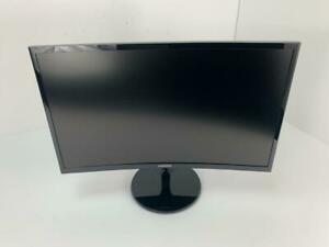 """Samsung LC24F390FHNXZA-RB 24"""" CF390 Curved LED Gaming Monitor - Defective."""