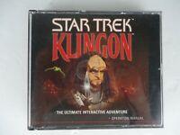 Star Trek Klingon PC Game - FREE SHIPPING