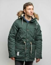Addict Expedition Parka Green Men's winter water-repellent DESIGNED IN ENGLAND