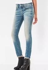 G-Star Raw Lynn Mid Waist Skinny Jeans It Aged Ladies Size UK W32 L32 *REF26-8