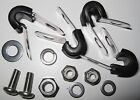 MG Midget/Sprite Rubber Lined P-clips for brake pipes Pre '74  - Stainless 316
