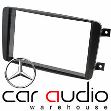 Autoleads Vauxhall Meriva 02-2005 Car Stereo Double Din Black Fascia Facia Panel