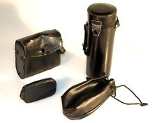 SET OF 4 ACCESSORY CASES (LENS, FLASH, METER)