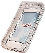 SILICONE TPU per cellulare Cover Case Guscio scutzhülle per Nokia n900 TRASPARENTE