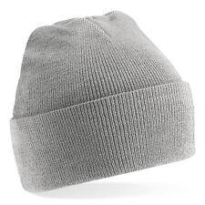 Bonnet Gris clair Classic'  Sport marque Beechfield Grey beanie 20 coloris