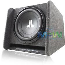 "JL AUDIO CP112-W0v3 12"" PORTED SUB ENCLOSURE BOX LOADED w/ 12W0v3-4 SUBWOOFER"