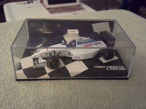 1994 Minichamps Tyrrell Yamaha 022 Ukyo Katayama 1/43 Formula F1 / Indy Diecast
