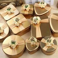 Luxury Gold Marble Favour Box Wedding Candy Boxes Sweet Gift AU Boxes Treat C5Z5