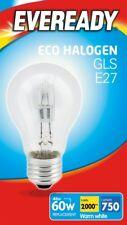 10 x 48w (60w) Lampadina alogena GLS E27 ES vite Edison (Eveready S10135)