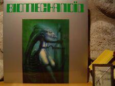 JOEL VANDROOGENBROECK Biomechanoid LP/Synth/Brainticket/Klaus Schulze/H.R. Giger