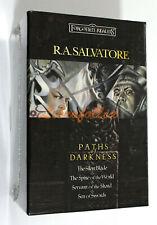 R.A. Salvatore PATHS OF DARKNESS QUADRILOGY GIFT BOX SET 2004 FORGOTTEN REALMS