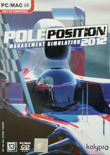 ** Pole Position 2012 F1 Racing Management Simulation * PC GAME * new Sealed **