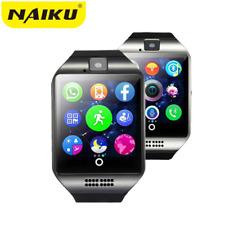 NAIKU Bluetooth Smart Watch Q18 With Camera Facebook Whatsapp Twitter Sync SMS S