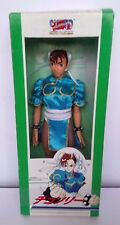 STREET FIGHTER 2 II Chun Li doll Action Figure Nuovo Inscatolato Gratis P&P