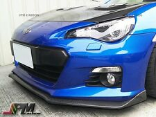 For Subaru BRZ BR-Z 2012+ STI Type Carbon Fiber Front Bumper Add On Lip