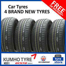 4X New 205 55 16 KUMHO ECSTA HS51 91V 205/55R16 2055516 *C/C RATED* (4 TYRES)