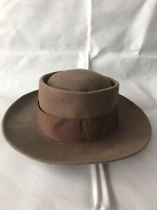 Vintage Pork Pie Hat, Jazz / Blues , 7 3/8.
