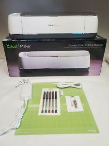 Champagne Cricut Maker Ultimate Cutting Machine with New Blade, Mat, Pen Pack