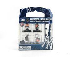 MLB New York Yankees Forever Squisherz 4 Pack With Bracelet New/Sealed Jeter