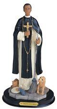 "12"" Inch San Martin de Porres Saint St Santo Statue Figurine Figure"