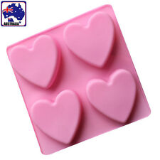 Silicone Love Hearts Cake Mould Mold Chocolate Jelly Baking DIY Tool HKIMO 6442