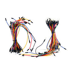 130Pcs Male to Male Dupont Breadboard Cable Jumper Wire Ribbon for Arduino