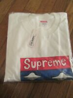 Supreme Sailboat Tee T-Shirt Size Large White SS20 Supreme New York New 2020 DS