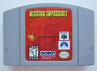 *GOOD* Mission Impossible Nintendo 64 N64 Video Game Retro Tom Cruise Super Fun!