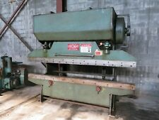 Nice Chicago 68-B Mechanical Press Brake w/ Front Operated Mechanical BackGauge