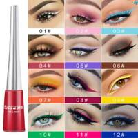 Matte Smoky Eyes Eyeshadow Waterproof Glitter Makeup Liquid Eyeliner Fashion