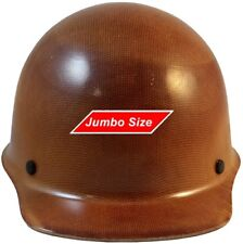 MSA Skullgard (LARGE SHELL) Cap Style Hard Hat STAZ ON Suspension - Natural Tan
