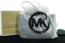 BNWT MICHAEL KORS JET SET ITEM NS TZ TOTE BLACK LEATHER WOMEN HANDBAG