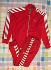 Adidas Originals Superstar Tracksuit Red White Size XL