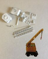 P&D Marsh N Scale N Gauge M62 Mobile yard Crane - kit needs construction/paint