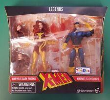 """Marvel Legends X-men 2-Pack 6""""Dark Phoenix & Cyclops:toys R Us Exclusive"""