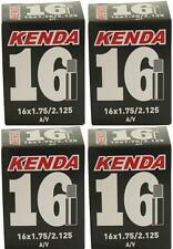 "4x Kenda 12/"" Kids BMX Bike /& PRAM Tube 12-1//2x2-1//4 SCHRADER S//V A//V Car Valve"