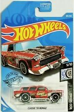 2019 Hot Wheels - Rod Squad - Classic '55 Nomad - Red - #5/10 - #183/250