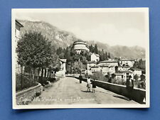 Cartolina Castione della Presolana - Passeggiata - 1958