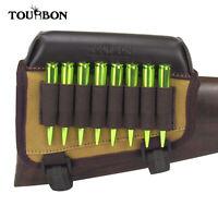 Tourbon Rifle Ammo Holder Shooting Butt Cheek Piece Rest Pad Buttstock Hunting