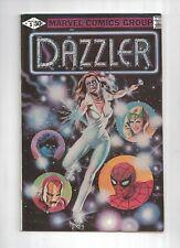 DAZZLER #1  RARE ERROR VARIANT pgs 24 & 25 black & white, X-men, 8.0 VF, Marvel