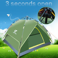 2-3 Persons Waterproof Automatic Tent UV Protection For Outdoor Camping Hiking