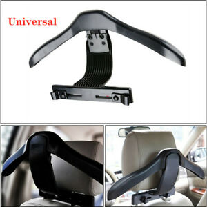 Universal Black Auto Car Seat Headrest Jacket Coat Suit Clothes Hanger Holder