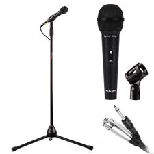 NADY Center Stage Microphone and Stand Kit  - Mic, Cable, Mic Clip, Stand (MSC3)