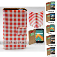 For HTC Series Mobile Phone - Bavarian Theme Print Wallet Phone Case Cover