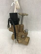"Rainbird 100-EFB-CP 1""  Brass Electric Valve"