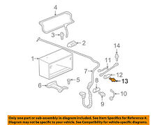 GM OEM Battery-Negative Cable Bolt 19115561